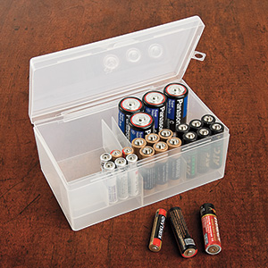 Regal Storage. BATTERY STORAGE CADDY